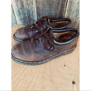DR.MARTENS leather lace up dress shoes size 8 women's
